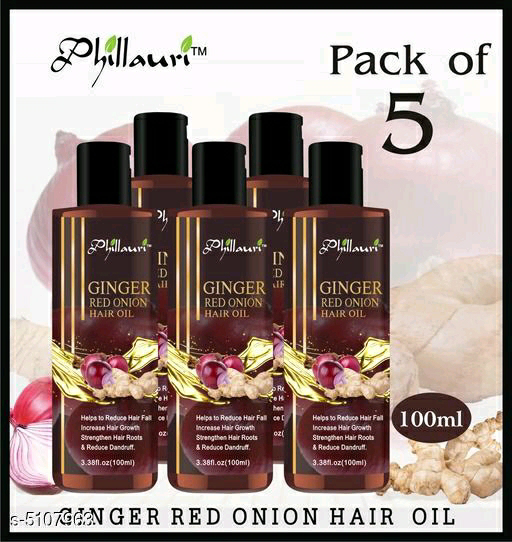 Phillauri Ginger Red Onion Hair Oil