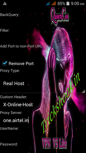 Airtel New QueenCee Vpn Free internet Trick January 2017