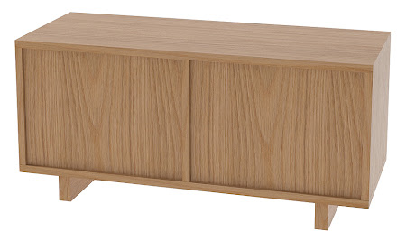 Parsons Cedar Chest in Natural Oak