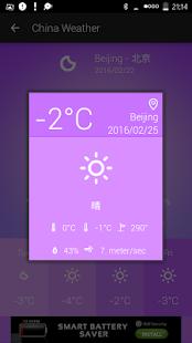 China Weather - náhled