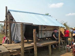 Photo: New metal roof provided for landmine survivor SipSakhorn