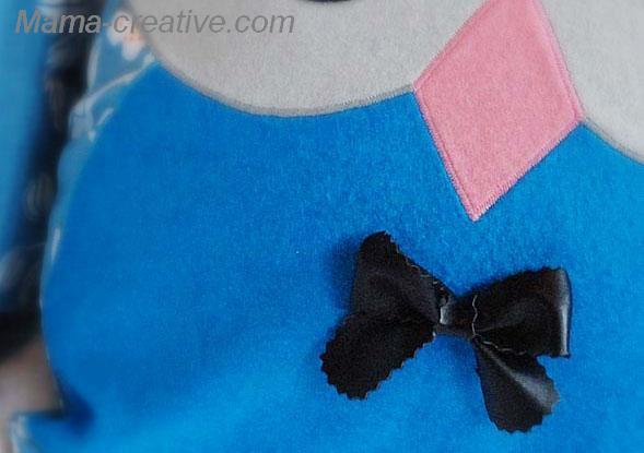 бабочка из кожи