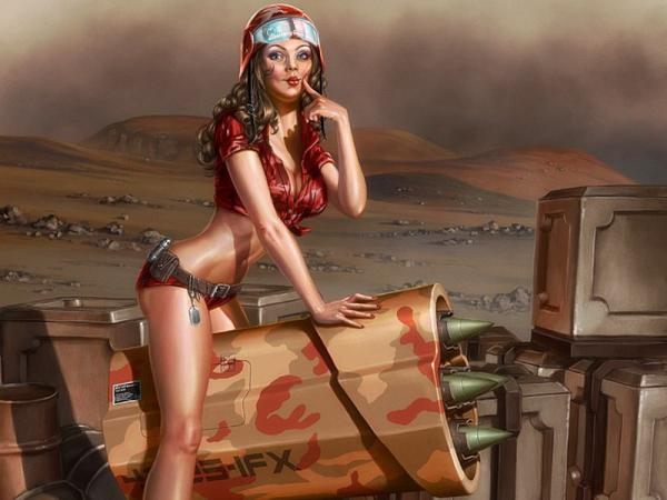 Kiss A Girl On The Warpath, Warriors 2