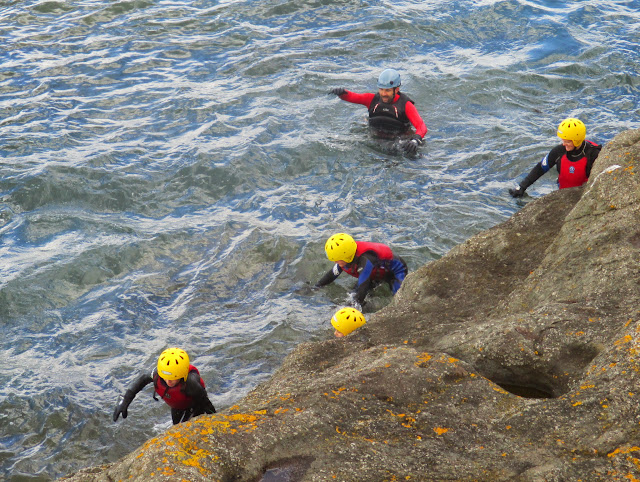 Image result for coasteering east lothian