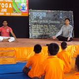 Circle Officer, Kharsang in Meditation posture.jpg