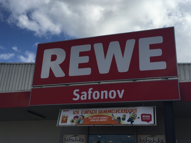 Zeltlager 2017: Rewe Boris Safonov oHG spendet Getränke