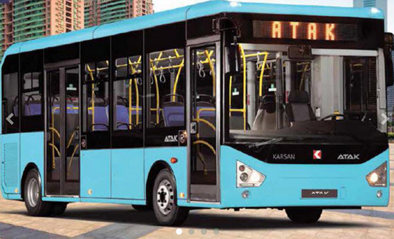 La EMT prueba el el Karsan Atak, un midibús turco diésel