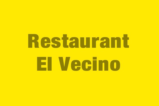 Restaurant El Vecino es Partner de la Alianza Tarjeta al 10% Efectiva