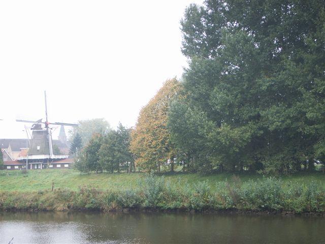 Mulertsdiekie richting molen Den Oord