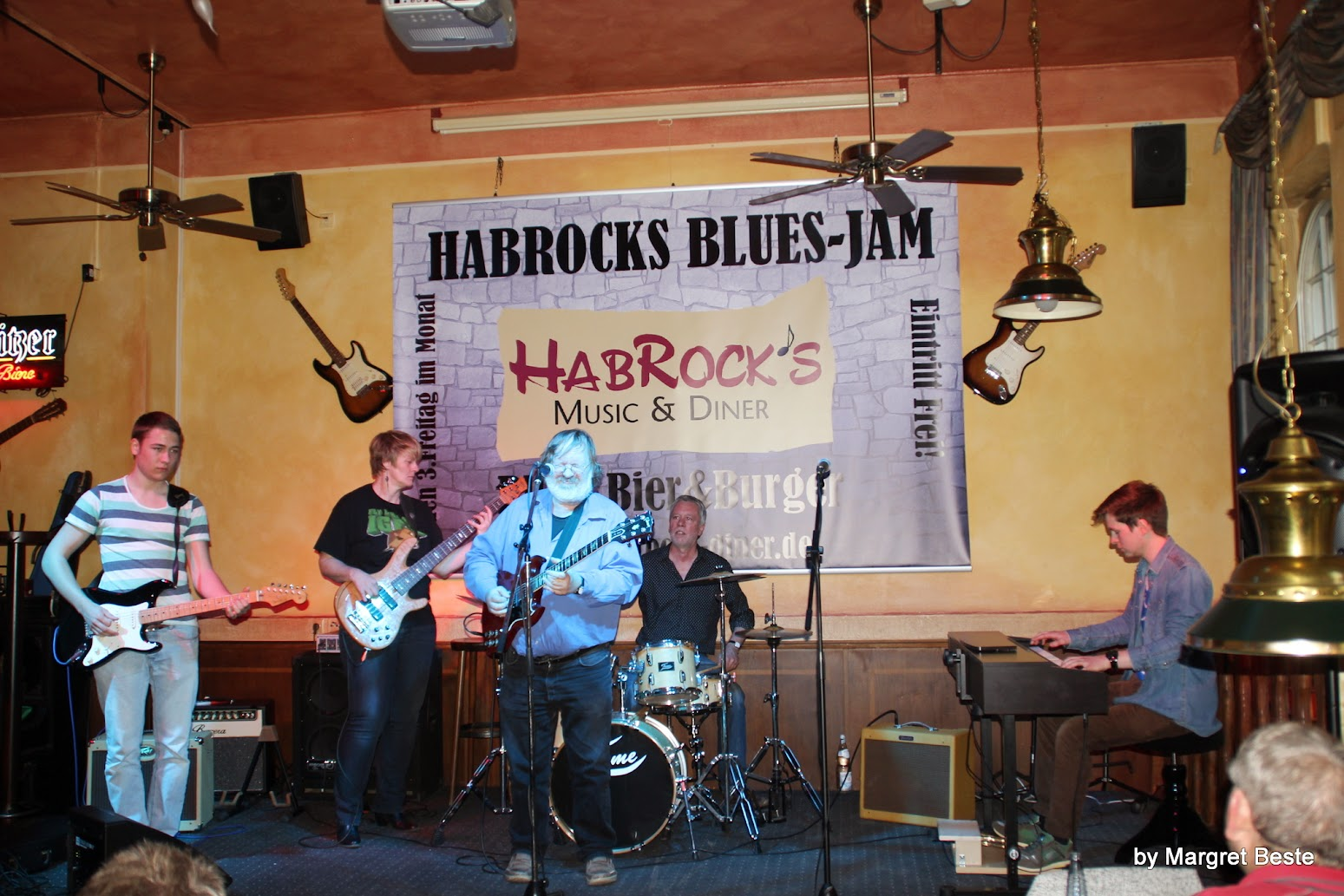 Blues Jam im Habrocks Music & Diner