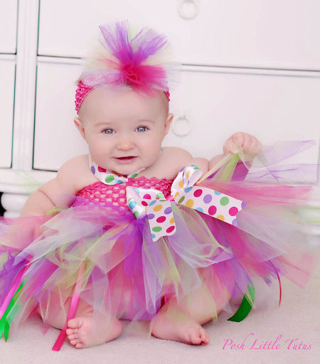 Birthday Dress Toddler: Designer Baby: Tutu Dresses From Trixi Lou Couture