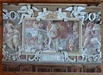 293 11-carte postale éléphant royal de Fontainebleau