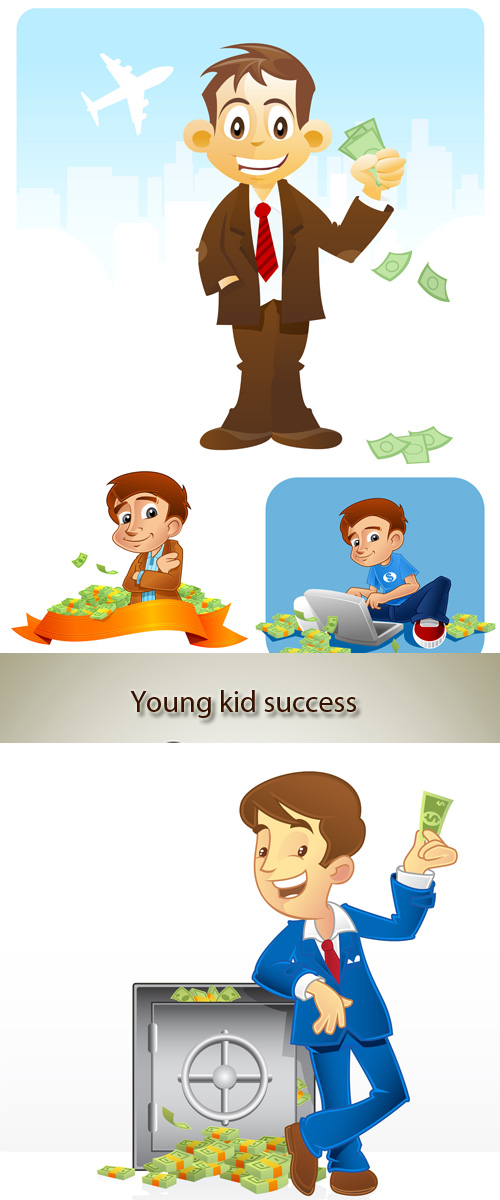 Stock Photo: Young and successful