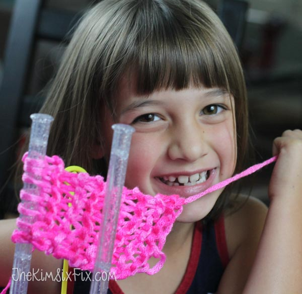 Learn how to knit for kids