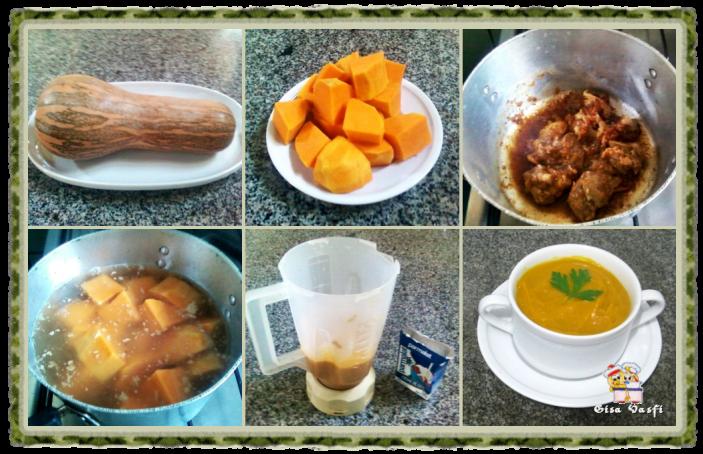 Sopa creme de abóbora 2