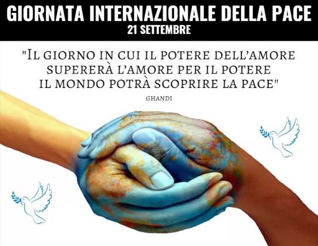 Oggi è la Giornata Internazionale della Pace