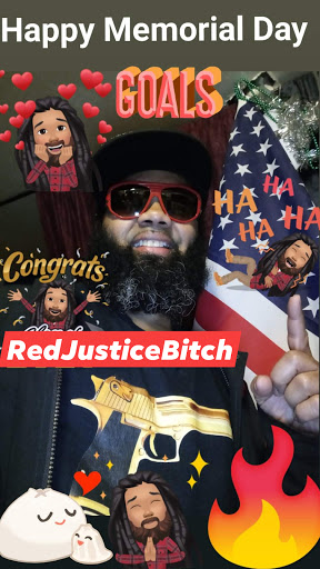 RED JUSTICE BITCH