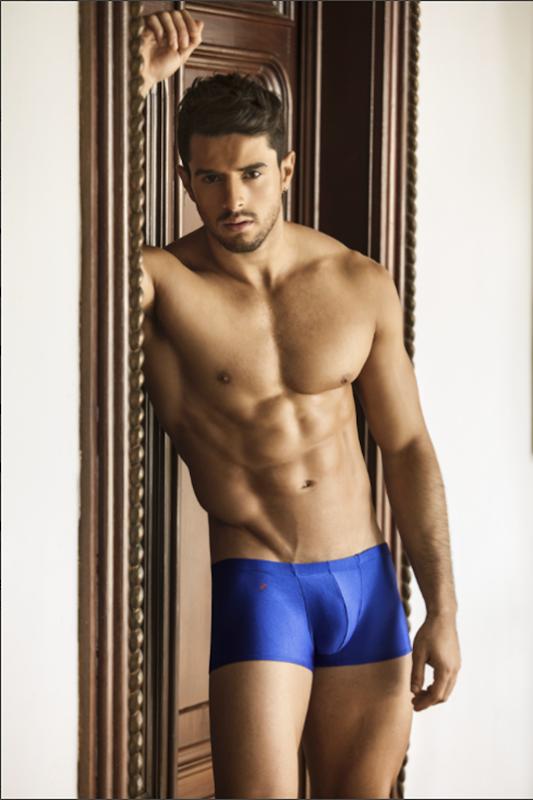 sexy guy in joe snyder trunks