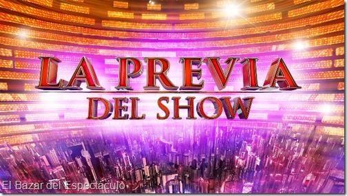 La previa del show 2016 estreno magazine el for Diario el show del espectaculo