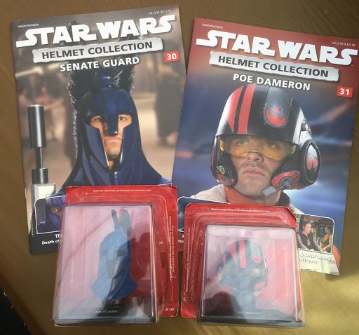 The Scavenger UK Blog: DeAgostini Star Wars Helmet