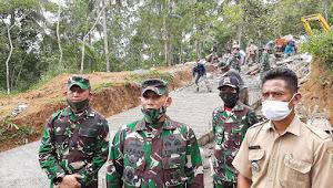 Danrem 071 : TMMD Wujud Pengabdian TNI Kepada Masyarakat