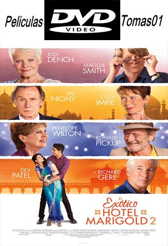 El Exótico Hotel Marigold 2 (2015) DVDRip