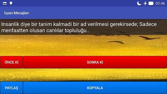 İsyan Mesajları screenshot 7