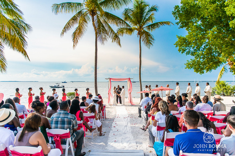 private beach wedding location florida