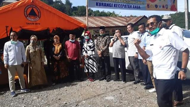DPRD Kota Padang Pantau 4 Posko Proteksi Covid-19.