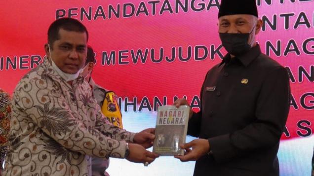 Gubernur Sumbar Dukung Nagari Tageh Bidang Hukum
