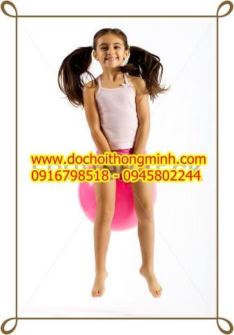 Bóng có gai tập thể dục thẩm mỹ, bóng nhảy có tay cầm
