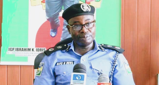Police Discover six assault rifles inside a church building in Delta state