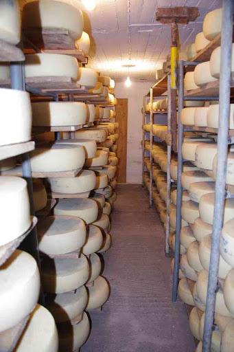 La fromagerie du plateau d'Omalos (Ομαλός).
