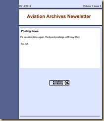 AA Newsletter Number 5-1