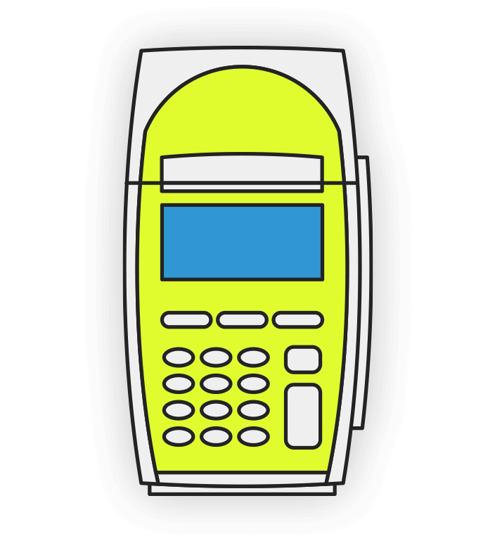 EFTPOS Machine Icon