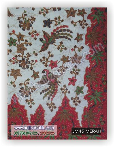JM45%2BMERAH Baju Batik Terbaru, Butik Baju Batik, Toko Baju Batik Online, JM45 MERAH