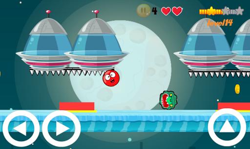 Mon Ball - ball adventure game  captures d'u00e9cran 1