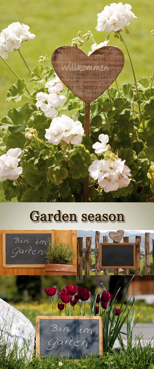 Stock Photo:Garten saison