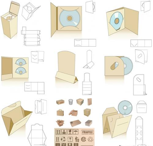 200+ Vector Packaging Templates Designs