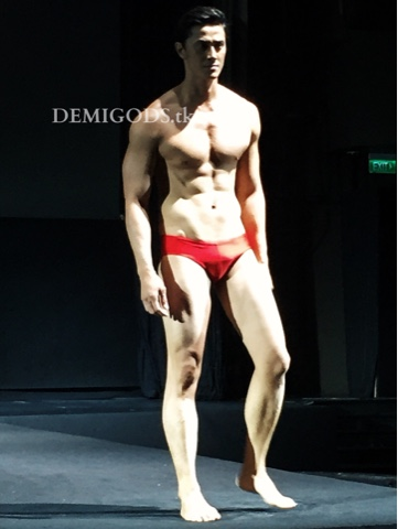 DEMIGODS: That guy in red: June Macasaet for ESAC