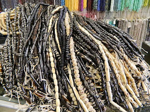 Photo: New Shipment of Bone beads at Objets D'Art