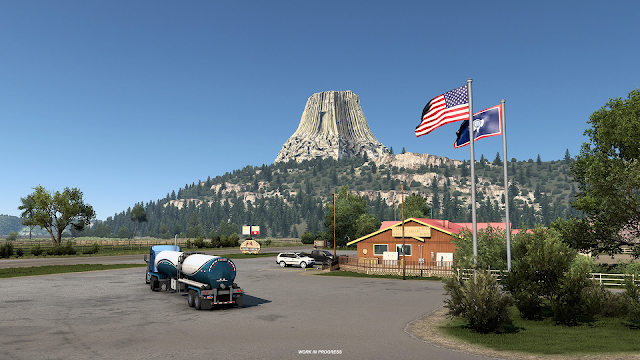SCS SOFTWARE: Wyoming - Devils Tower