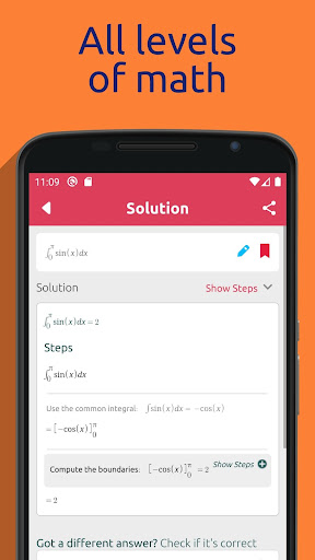 Symbolab - Math solver  screen 0