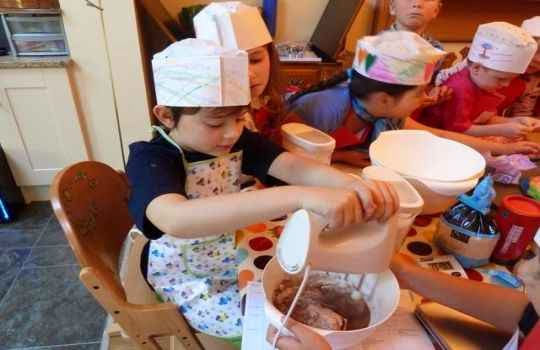 Fiesta infantil tematica cocina 3