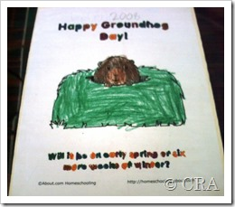 Groundhog Day Lapbook