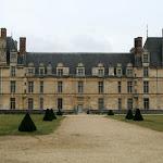Château d'Ecouen : façade ouest