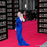 WWW.ENTSIMAGES.COM -   Kim Cattrall    at      The Olivier Awards at Royal Opera House, Covent Garden, London, April 28th 2013                                               Photo Mobis Photos/OIC 0203 174 1069