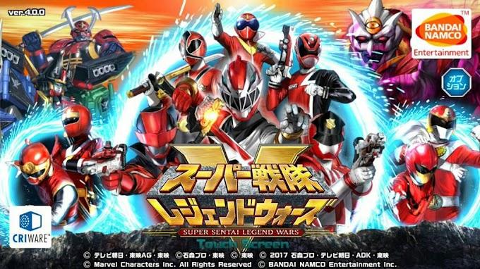 Game mobile Super Sentai Legend Wars Umumkan Akan Menutup Serverl