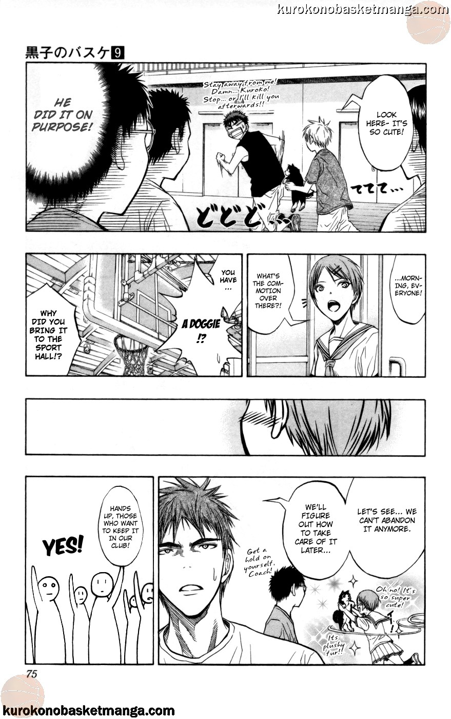 Kuroko no Basket Manga Chapter 74 - Image 09