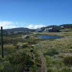 Looking down over Perisher Valley Reservoir and valley (263453)
